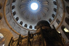 Tomb of tombs: Jesus Christ's tomb in the Church of the Holy Sepulchre in Jerusalem's Old City. (2010)