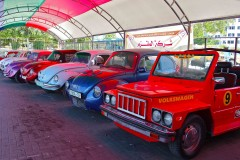Vintage: Refabbed classic cars at Gaza's first-ever vintage auto show. (2010)