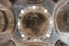 Dome: The view from within of the central dome on Akhtamar Island in Lake Van, Turkey. (2010)