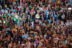 Democrats cheer the Barack Obama at the quadrennial convention in Charlotte, N.C. (2012)